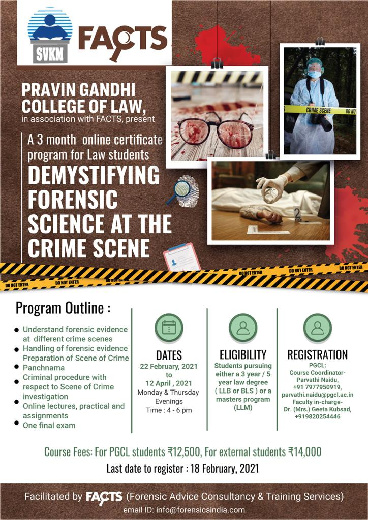 Demystifying Forensic Science at the Crime Scene